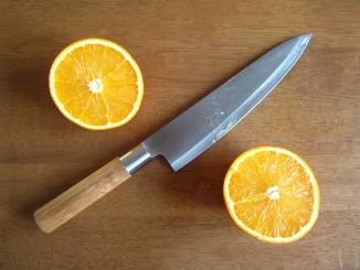 Nôž v kuchyni