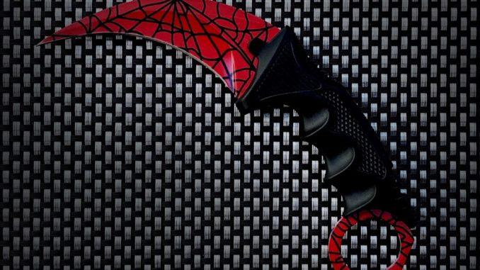 Nôž CS GO Karambit Crimson Web